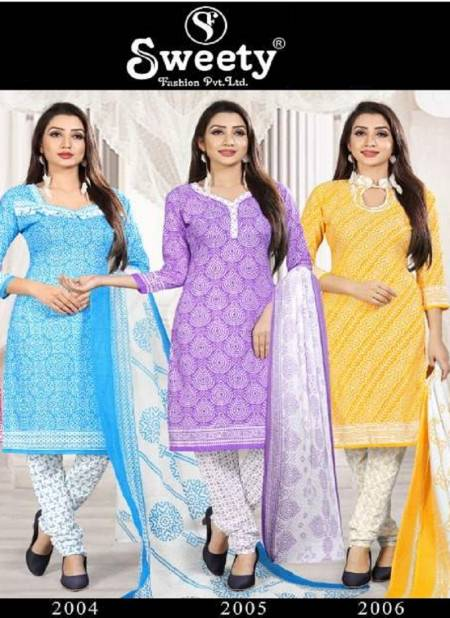 Sweety Tim Tim Vol 112 Latest Printed Cotton Casual Wear Dress Material Collection