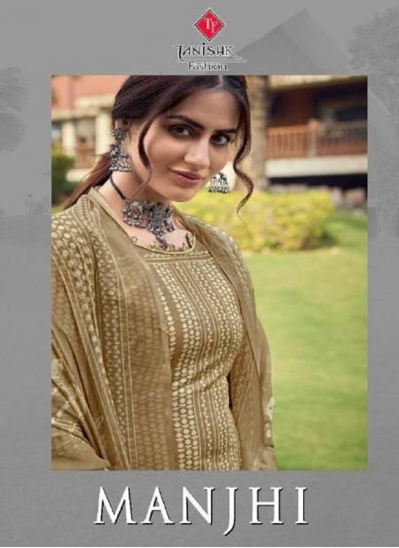 TANISHK MANJHI Latest fancy Festive Wear Pure lawn Batic Cotton Designer Printed Heavy Salwar Suit Collection