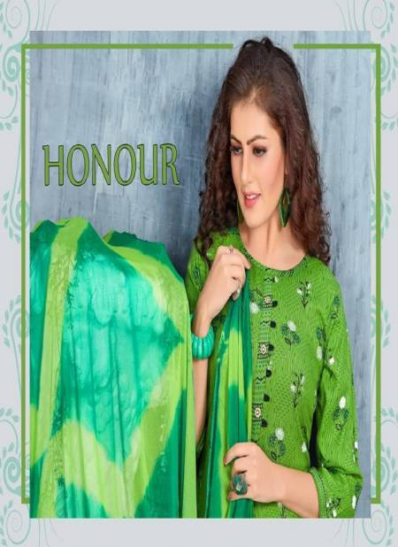 Trendy Honour Latest Designer Rayon Printed Ready Made Regular Wear Dress Collection
