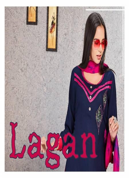 Trendy Lagan Latest Regular Wear Rayon Readymade Salwar Kameez Collection