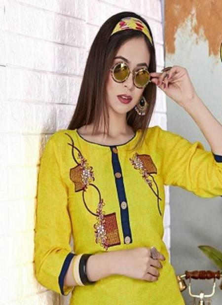 Trendy Pari 2 Ethnic Regular Wear Latest Designer Cotton Kurti Collection