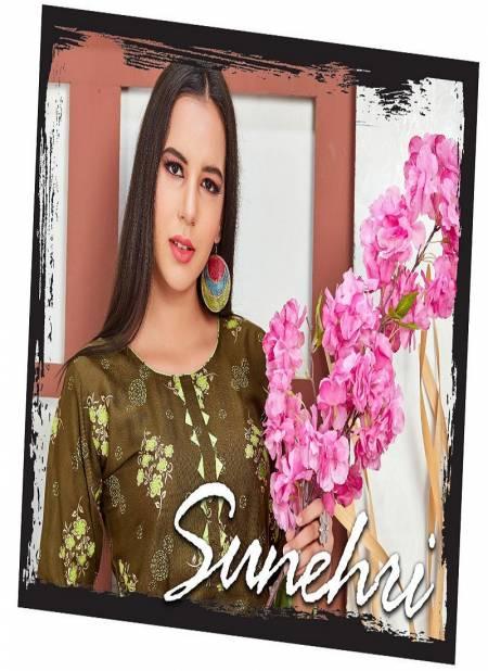 Trendy Sunhaari Latest Designer Resular Wear Rayon Printed Ready Made Salwar Kameez Collection