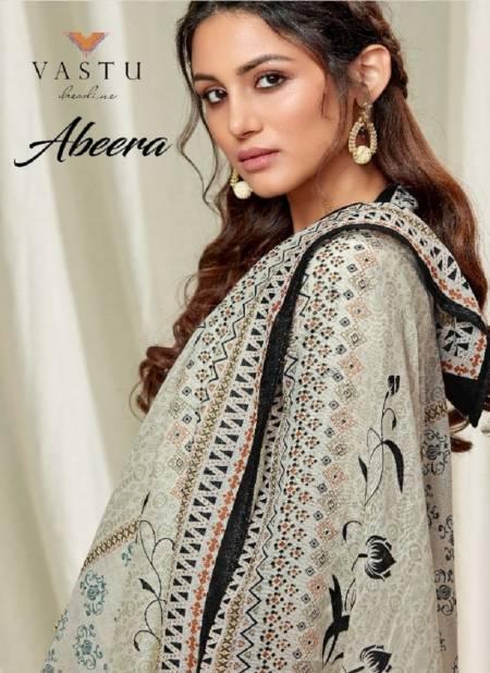 Vastu Abeera Latest Casual Wear Designer Satin Cotton Print With Exclusive Work Salwar Suits Collection