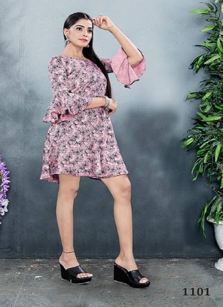 Vyona 2 Latest Fancy Party Wear Ethnic Wear Stylish Western Ladies One Piece Collection