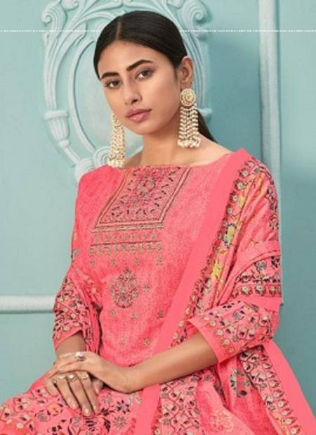 Yashika Zuffat 1 Latest Designer Festive Wear Pure Lawn Cotton Printed Dress Material Collection