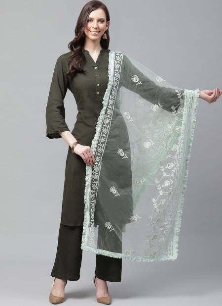 Zarika Lkd Dupatta 1 New Dupatta Collection With Embroidery Work