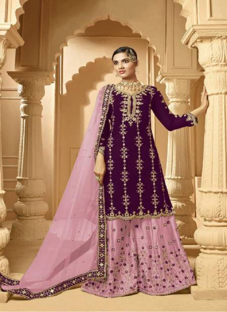 Zeeya 1001 Colors Exclusive Heavy Faux Georgette With Heavy Embroidery And Mirror Work Designer Salwar Suits Collection