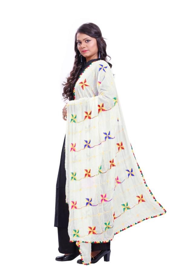 Latest Dhaga Work Stylish Nazeen Dupatta Collection
