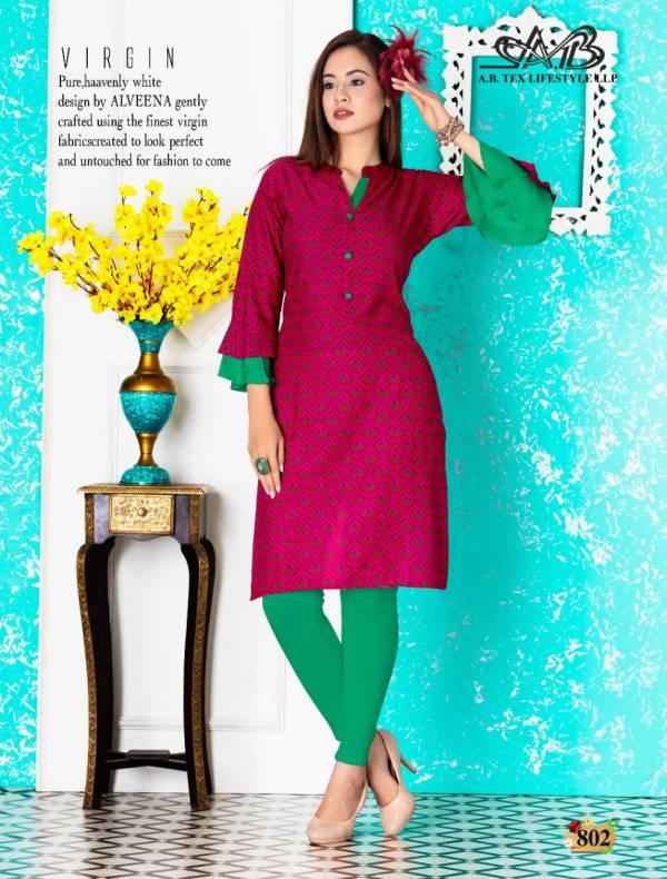 AB Sarika Latest Fancy Designer Printed Kurtis Collection