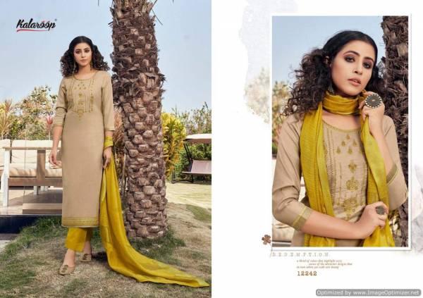 Kalaroop Mahal 2 Latest Fancy Designer Ready Made Festive Wear Salwar Suit Collection