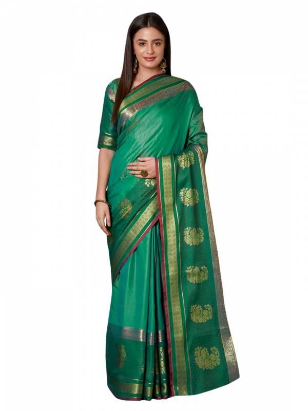 Rahie Latest Designer Beautiful Border Party Wear Wedding Saree Collection