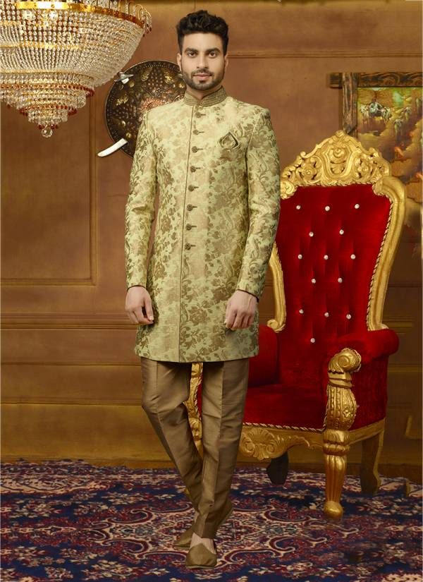 Latest Embroidered Work Sherwani Collection With Indo Western Look and For Wedding Functions And Festivals