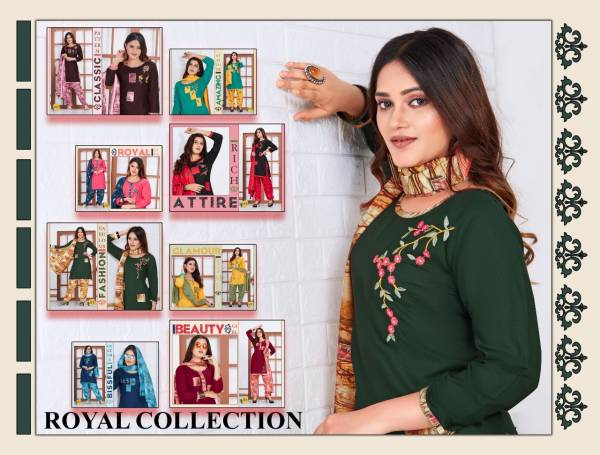 Trendy First Lady 2 Latest fancy Regular Casual Wear Rayon Printed Readymade Collection