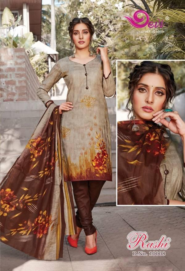 Devi Rashi 10 Designer Cambric Cotton Printed Regular Wear Dress Material Latest Collection