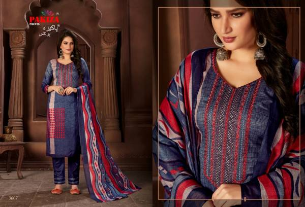 Pakiza Sana Safinaz Vol 36 Latest Designer Karachi Cotton Dress Material Collection