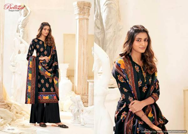 Belliza Al Marina Latest Collection Of Pure Pashmina Printed Designer Dress Material