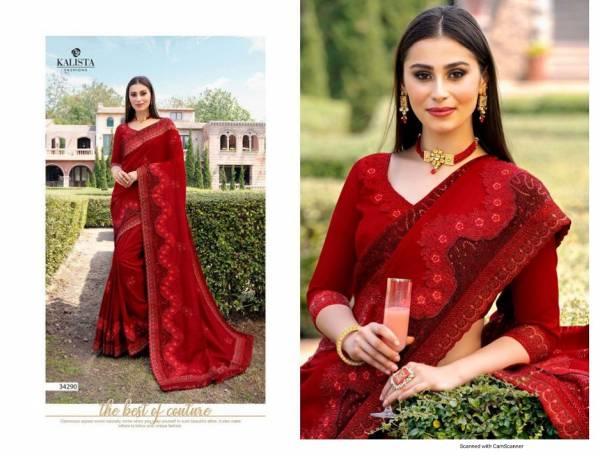 Kalista Sana Latest Fancy Designer Festive Wear Rangoli Silk Saree Collection