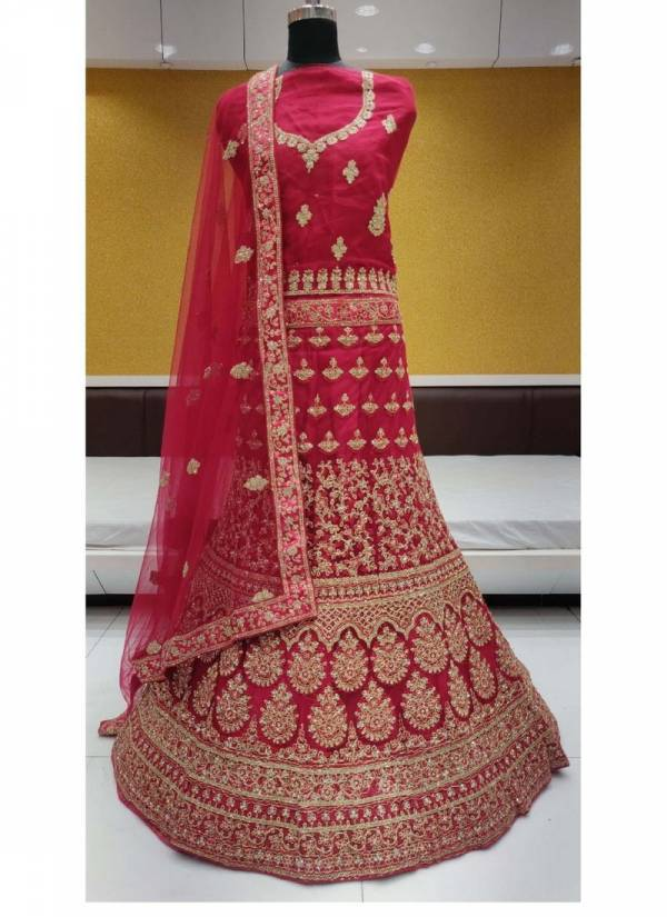 Dark Coin 4 Sannchi Heavy Net Bridal Lehenga Choli Collections