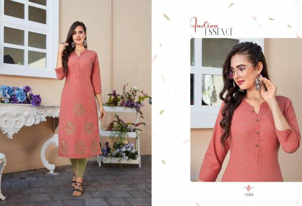 New Latest Zohie Designer Rayon Party Wear And Casual Wear Kurties Collection