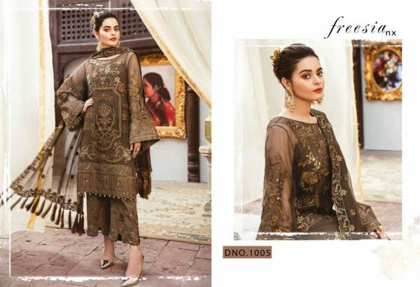 Heavy Embroidered Georgette Top With Santoon Silk With Bottom Patch and Nazneen/Net Heavy Embroidered Dupatta