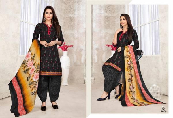 Sweety Fashion Kulfi Cotton Designer Ptiyala Salwar Suit Collections
