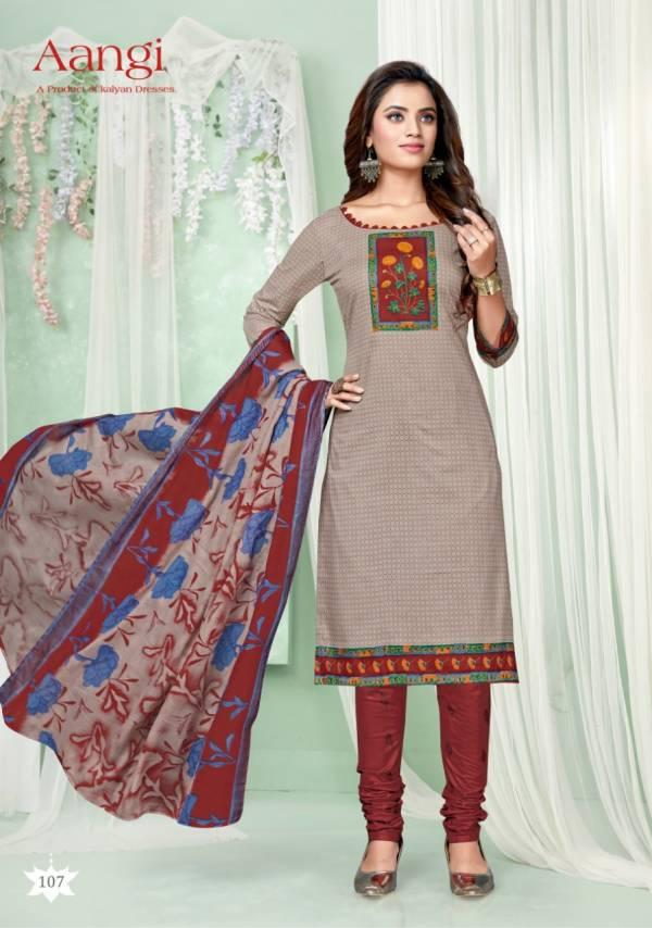 Kalyan Aangi Vol 1 Latest Designer Casual Wear Pure Cotton Dress Material Collection
