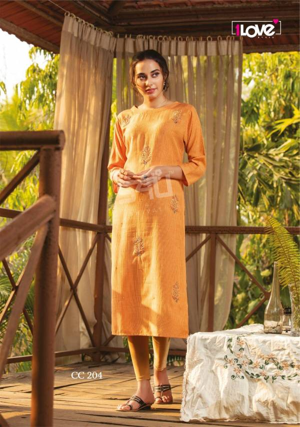 1Love Cotton Candy 2 Ethnic Wear Designer Rayon Kurti Collection