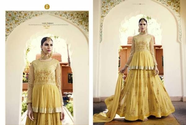 Avida Leo Royal Georgette Designer Wedding Dress Collections