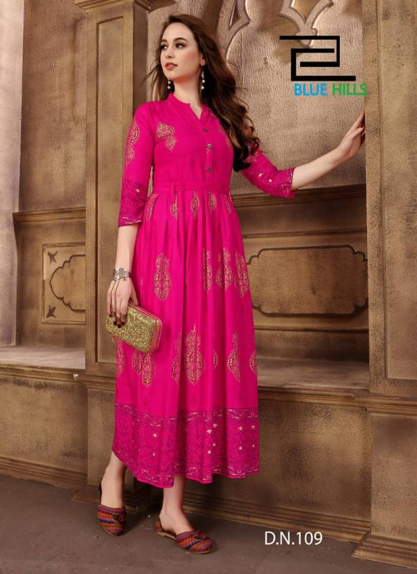 Latest Launch Of Designer Casual and Party Wear Rayon Kurties with Separate Belt In Waist