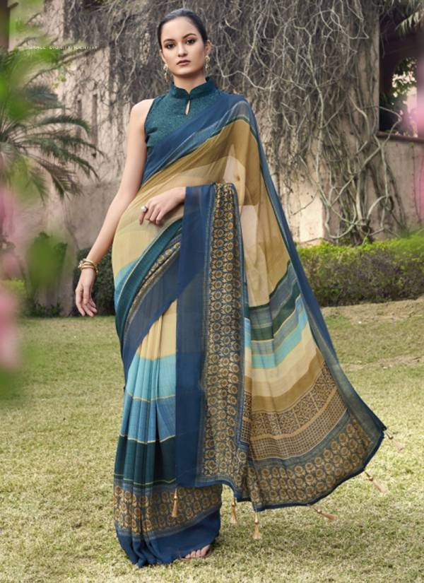 Lilly Vol 2 Georgette Fancy Designer Casual Wear Saree Collection 26801-26812