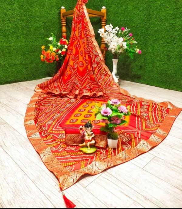 Mahek 27 Casual Wear Latest Fancy Designer Regular Wear Georgette Printed Sarees Collection