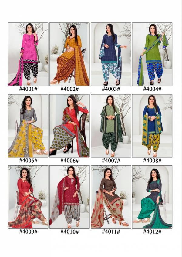 Alisha 4 Latest fancy Regular Wear Pure Cotton Printed Pure Micro Cotton Collection