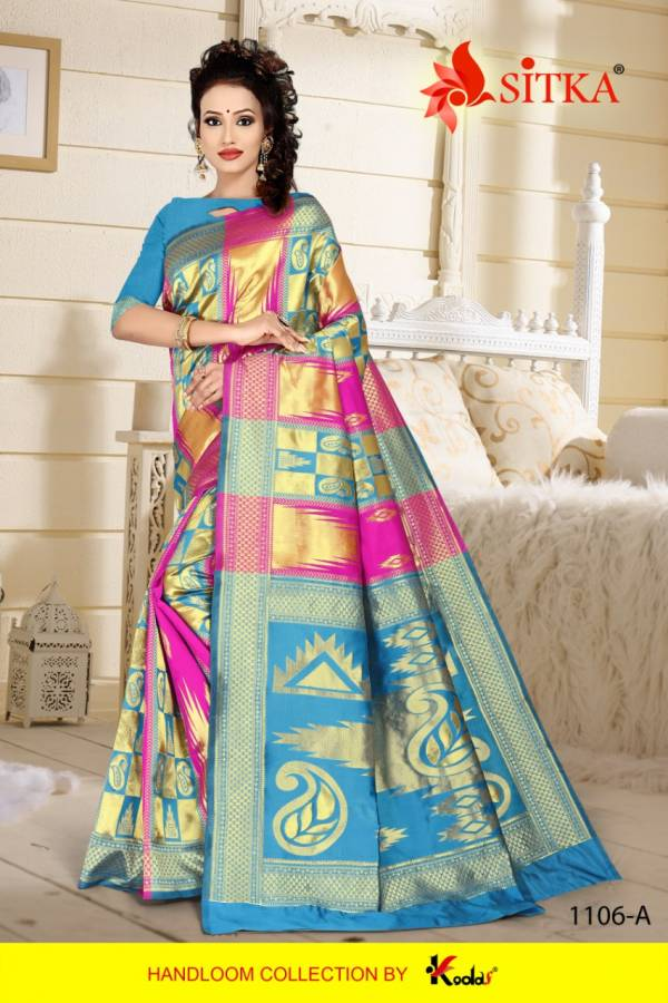 Eagle 1106 Exclusive Designer Party Wear Festive Wear Saree Collection
