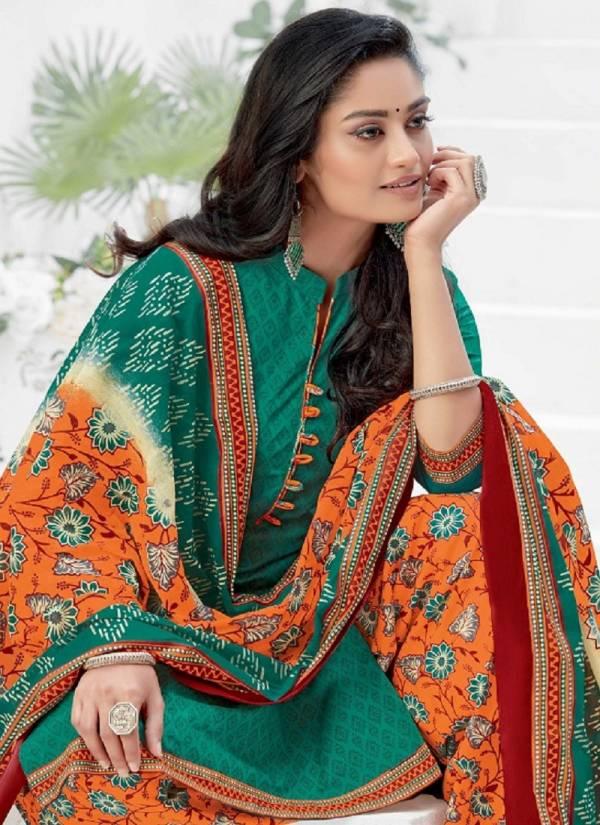 Shivani Pakhi 11 Regular Wear Cotton Printed Ready Made Salwar Suit Collection