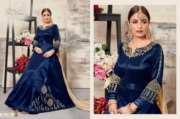 Aanaya vol 77 Silk Designer Chudidar Dress Material Collections