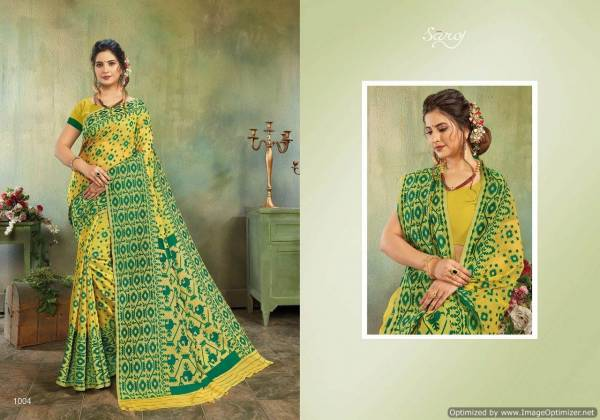 Saroj Monisha 2 New Launch Of Cotton Saree Suitable For Party And Functions