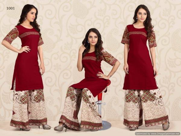 Jugni-Khwaab Latest fancy Designer Ethnic Wear Polly Cotton Printed Kurtis With Bottom Collection