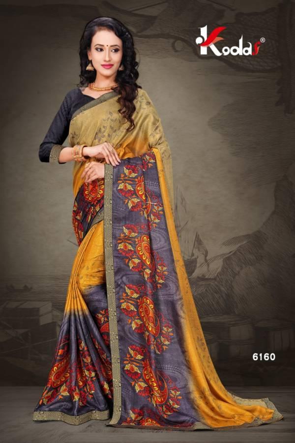 Daily Wear Designer Fancy Vichitra Silk Saree Collection
