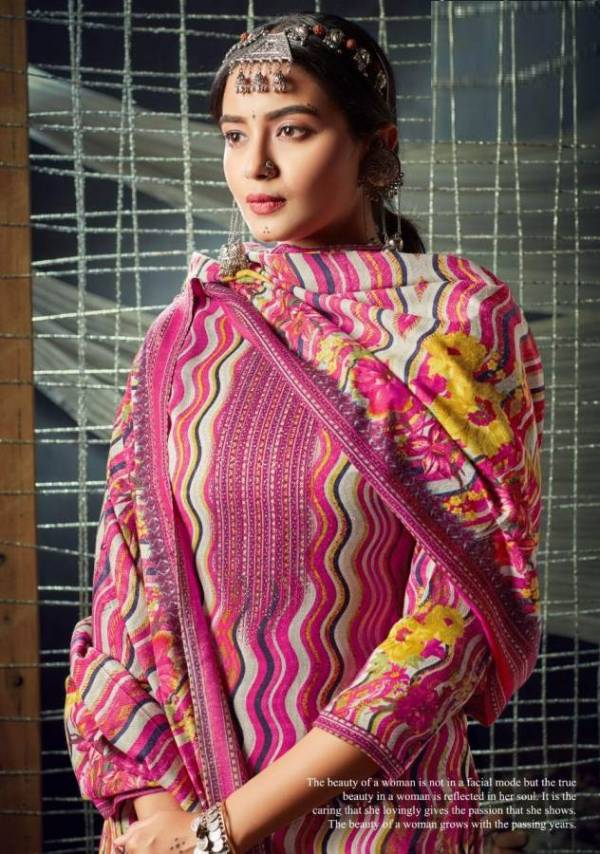 Silky 3 Ready Made Latest Fancy Designer Casual Wear Pashmina Jacquard Winter Salwar Suit Collection