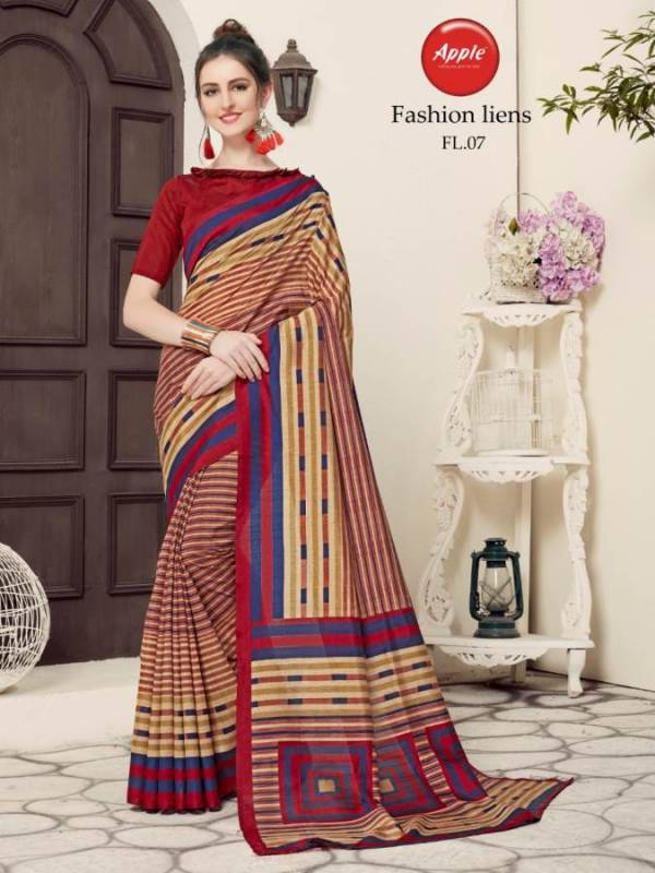 New Designer Party Wear Regular Wear Printed Wonderful Colour Saree Collection