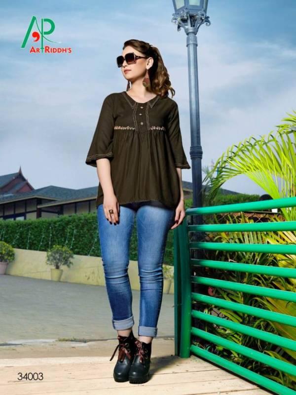 AR Shrusti Latest Designer Party Wear Stylish Ladies Tops Collection