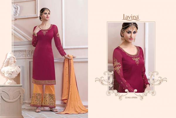 Lavina 69 Series Fancy latest Designer Festive Wear Heavy Georgette Embroidered Salwar Kameez Collection