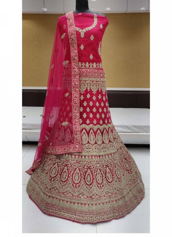 Dark Coin 6 Saanchi Heavy Net Bridal Lehenga Choli Collections