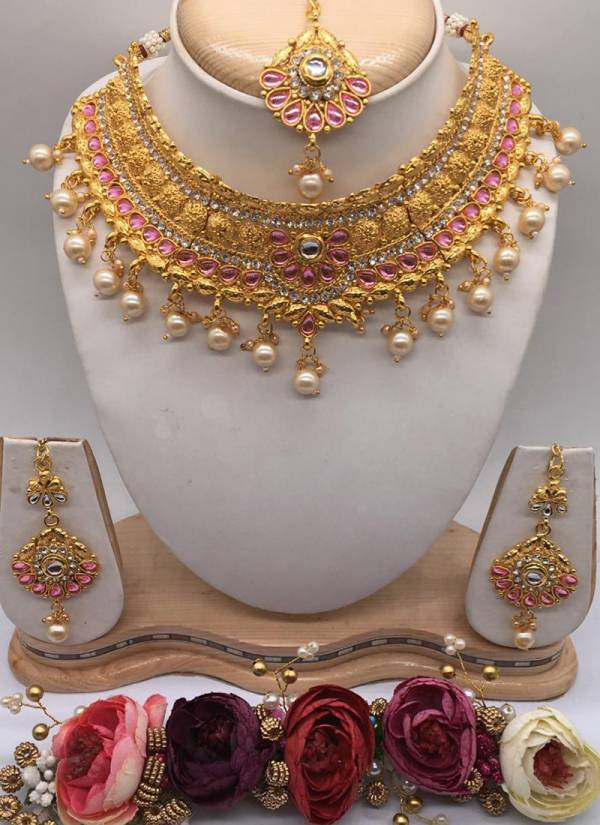 Pretty Wedding Designer Kundan Jewelry Collection