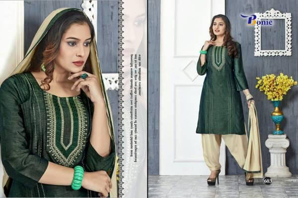 Bonie Naira Latest Designer Patiyala Style Beautiful Neck Design Salwar Suit Collection