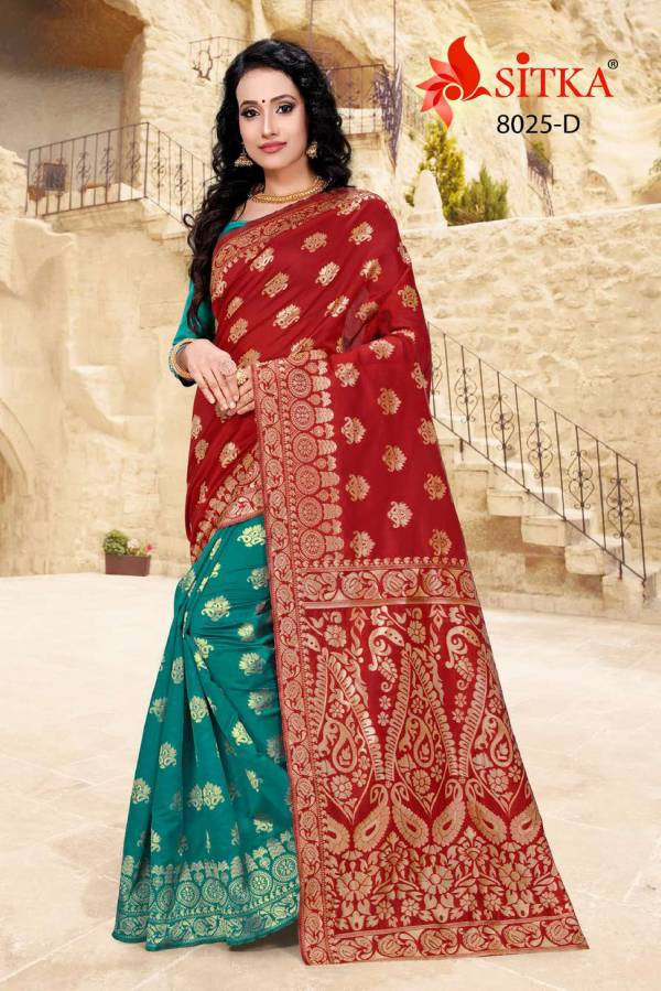 taal 8025 Latest Designer Collection of Sarees For Festival And Function