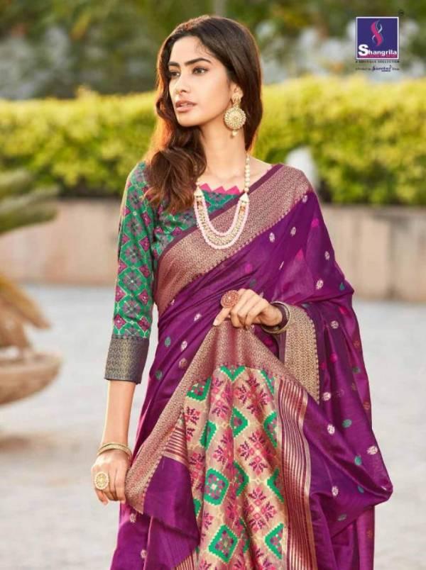 Shangrila Ramaiya Silk Designer Festive Wear Silk Saree Collection