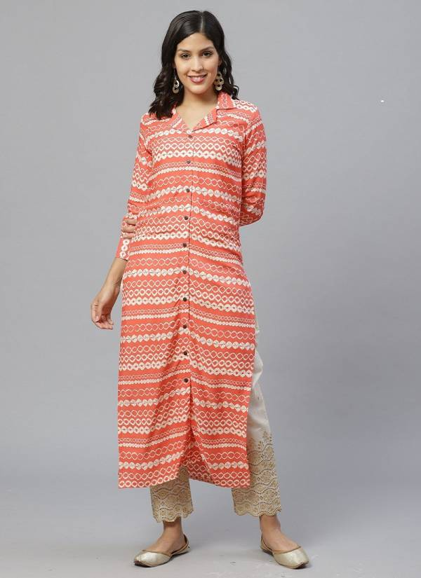 Era Shades 4 Designer Exclusive Casual Wear Cotton Kurti With Bottom Collection