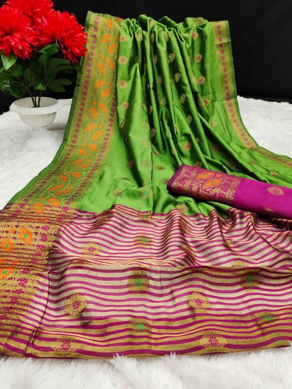 Maahi 37 Party Wear Banarasi Silk Latest Designer Fancy Saree collection