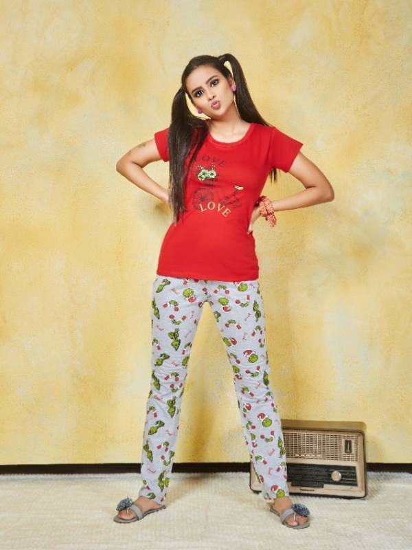 Smylee Ice Cool Stylish Printed Night Pant Collection